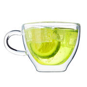 Double-wall Tea Cup, Stylish Design for Best Display your Tea from U&Me Elegance Houseware Manufacturing Co. Ltd