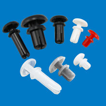 Nylon snap rivet, made of nylon, various shapes/sizes are accepted, RoHS Directive-compliant from Ganzhou Heying Universal Parts Co.,Ltd