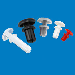 Plastic fasteners nylon snap rivet for PCB/LED board from Ganzhou Heying Universal Parts Co.,Ltd
