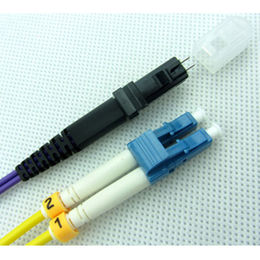 China LC MTRJ Fiber Patch Cable In Local Area Networks