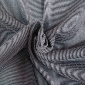 100% cotton flame retardant rib fabric for garment