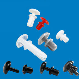 Nylon push rivets, from fastener manufacturer production and sales from Ganzhou Heying Universal Parts Co.,Ltd