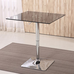 Bar square glass table from China (mainland)