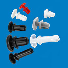 LED board rivet, made of plastic from Ganzhou Heying Universal Parts Co.,Ltd
