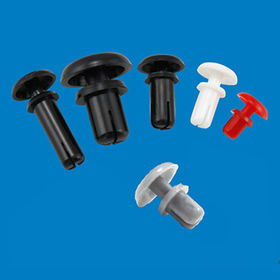 Plastic nylon rivet, used to fixed the board from Ganzhou Heying Universal Parts Co.,Ltd