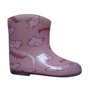 Children's PVC rain boots from Hong Kong SAR