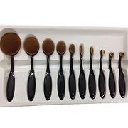 Oval makeup brush set from China (mainland)