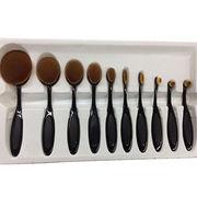 Oval makeup brush set from China (mainland)