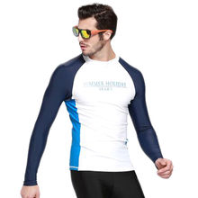 UV protection with long sleeve, nylon fabric wetsuit