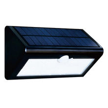 Solar light with motion, solar/wall mounted
