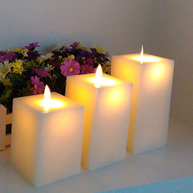 Remote control LED wax candle light from China (mainland)