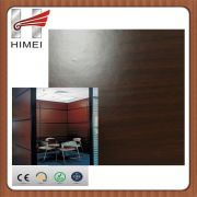 Wood grain pvc laminated steel sheets for office partition