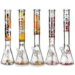 ZOB 10'' Glass Smoking Water Pipes Jiangsu HF Art Products Glass Co., Ltd.