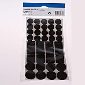 120PCS Felt pad set Felt surface savers Lot de 120 from China (mainland)