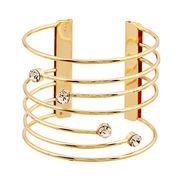 Wire diamond-encrusted bracelet from China (mainland)