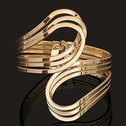 Alloy hollow bracelet from China (mainland)