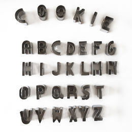 Letter Cookie Cutters from China (mainland)