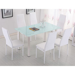 China Cheap wholesale tempered glass modern table