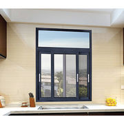 Anodize aluminum sliding glass window with fly screen