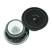 92 mm, 3W ferrite loudspeaker in 26.5 mm height and 8 Ohm from Wealthland (Audio) Limited