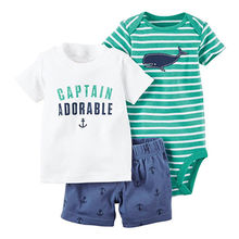 100% cotton baby short-sleeved bodysuit from China (mainland)