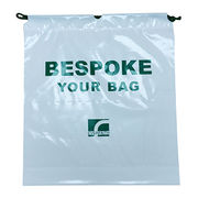 LDPE Drawstring Bag, Customized Sizes are Welcome from Everfaith International (Shanghai) Co. Ltd