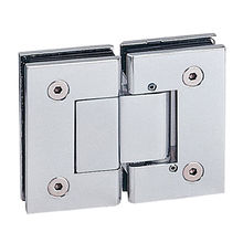 Adjustable shower hinge, 180 degree glass to glass, square design from Door & Window Hardware Co