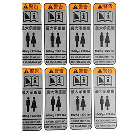 China PVC Adhesive Label