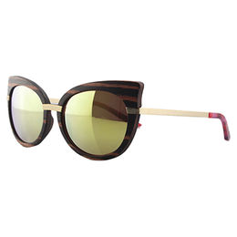 Handmade Natural Wooden Sunglasses from China (mainland)