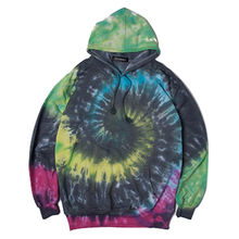 China Men's tie dye pullover hoodies
