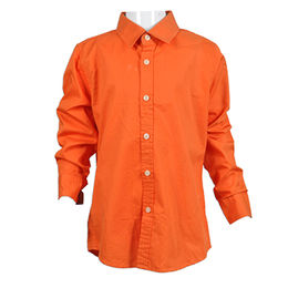Men's Cool Shirts, Windsor Collar, Round Cuffs, Oxford Wrinkle Free, FAMA Pass