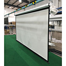 Office and home use 100-inch wall projection screens