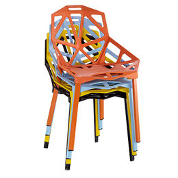 China Designed by masters plastic PP modern designer chair