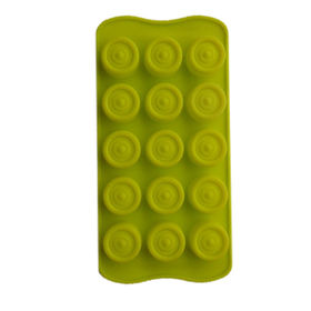 15-cup lovely small size silicone cake molds from China (mainland)