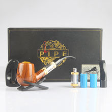 E-pipe,1pc battery body,2pcs atomizer,2pcs battery,1pc charger,1pc English manual,1pc gift box