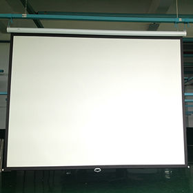 China Pull down 120-inch motorized projector screen