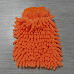 China chenille cleaning gloves