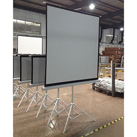 """China 4:3 60"""" projector tripod stand screen"""