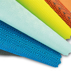 Stock Nylon Fabrics for Bags and Luggage with Various Pattern