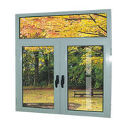 Modern aluminum casement window