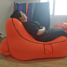 Outdoor Nylon Inflatable Lounger from China (mainland)