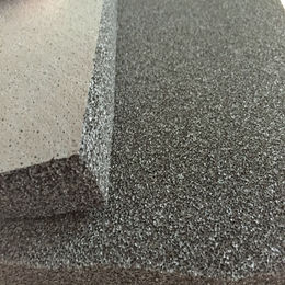 EPDM foam rubber sheet black color, open cell rubber sheet for insulation