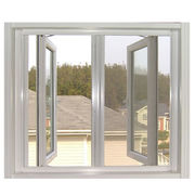Double panels swing outside casement window from China (mainland)
