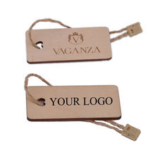 China Customized hot selling wooden garment label