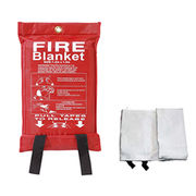 Anti-Fire Blanket with Glass Fiber Fabric Housing.