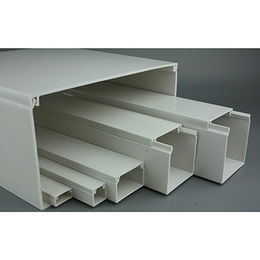 100X100 High Quality Electrical PVC Cable Trunking from China (mainland)