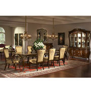 China Antique wooden furniture dining room set
