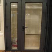 Aluminum residential exterior doors