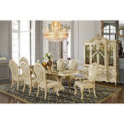 China High quality antique wooden furniture dining room set