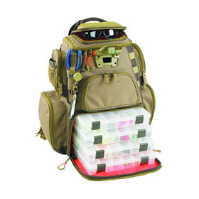 Wild River Lighted Tackle Backpack from China (mainland)
